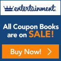 entertainment book sale movies restaurants