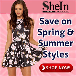 Save on Spring Styles at SheIn.com