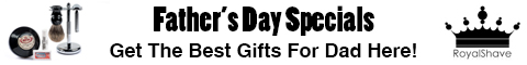 Royal Shave Fathers Day Specials