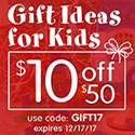 Gift Ideas For Kids - Save $10 Off $50 Plus Free Shipping On Stock Orders Over $99 - At Discount School Supply! Use Code: GIFT17! Good Through 12/17/17!