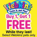 Webkinz BOGO offer
