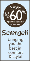 Serengeti - Save up to 60% on sale items