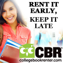 Rent your textbooks and win an Apple iPad!