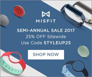 25% off at Misfit
