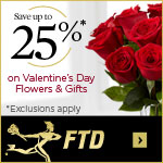 25% Off Flowers and Gifts (1/24-2/14/12) 150x150