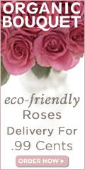 $.99 Shipping On Eco-Elegant Roses