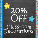 Classroom Decor up to 20% off at NestLearning.com
