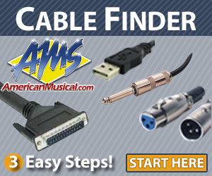American Musical Supply Cable Finder