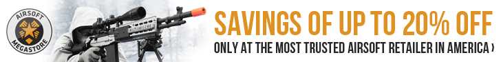 Airsoft Megastore - Get Savings Up to 20%