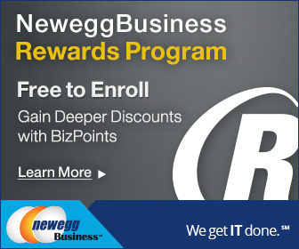 Image for Newegg Business Rewards Program: Earn Points Towards Deeper Discounts! Enroll now at Newegg Business, FREE for a limited time!