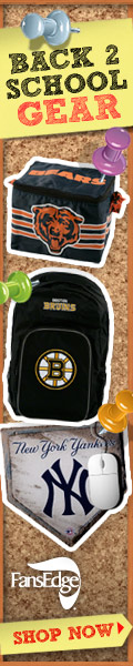 Shop FansEdge.com Today For Back To School Gear!
