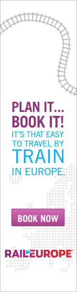 Plan it... Book it! It's that easy to travel by train in Europe.
