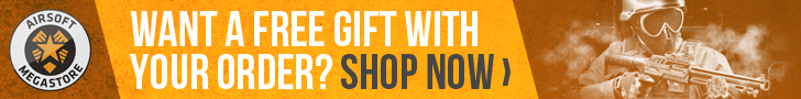 Airsoft Megastore - Get a Free Gift