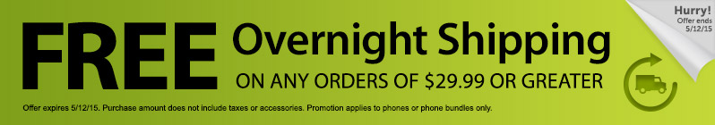 Straight Talk Promo Code for Free Overnight Shipping on Any Orders