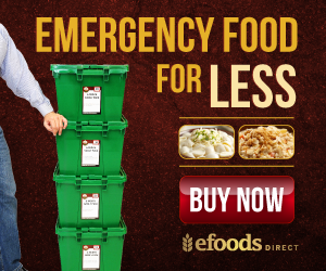 6 Month Emergency Food Supply from eFoodsDirect