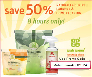50% Off Grab Green - Naturally Clean