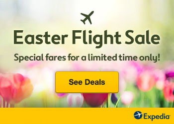 Easter Flight Sale