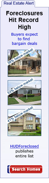 Foreclosures 60% below market price