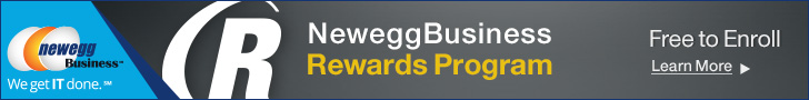 Newegg Business Rewards Program: Earn Points Towards Deeper Discounts! Enroll now at Newegg Business, FREE for a limited time!