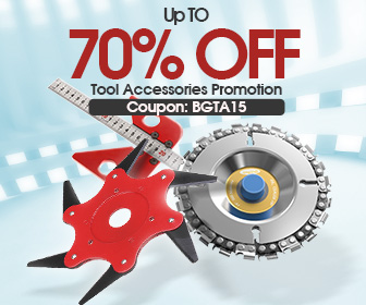 Image for 15% OFF Coupon for Tool Accessories