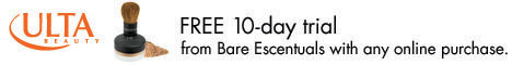 Bare Escenuals 10-Day Free Trial at Ulta.com