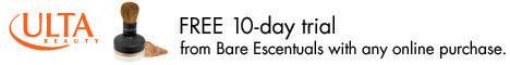 Bare Escenuals 10-Day Free Trial at Ulta.com