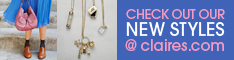 Check Out The New Styles at Claire.com