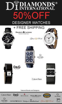50% Clearance Watches + Free Shipping