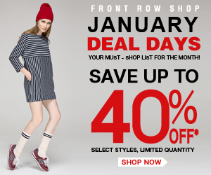 January Sale-Up to 40% off