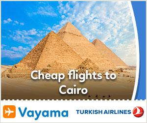 Vayama - TK_Cairo2017: Amazing Deals to Cairo