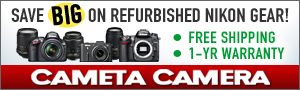 Save BIG on Nikon Refurbished Products