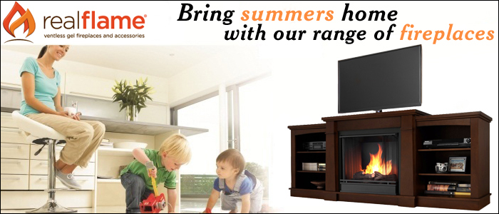 Bring Summer Home With Our Range Of Fireplaces
