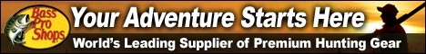 Bass Pro Shops hunting gear