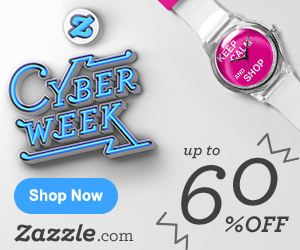 Up to 60% off on Zazzle.com