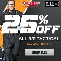 Black Friday 5.11 Tactical Gear 25% Off