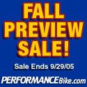 Fall Preview Sale at PerformanceBike