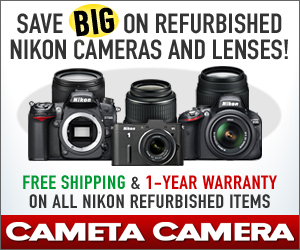 Save BIG on Nikon Refurbished Products