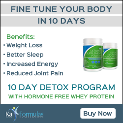 10 Day Program With Hormone Free Whey Protein