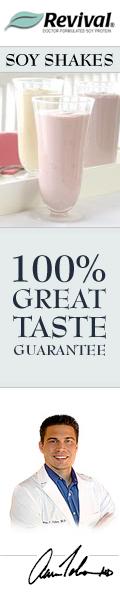 Revival Soy: 100% Great Taste Guaranteed