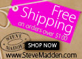 Free Shipping over $100 at SteveMadden.com