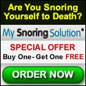 Stop Snoring Now!