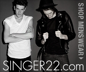 Shop Designer Menswear at SINGER22.com