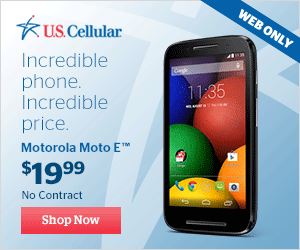 Buy Moto E for $19.99 No Contract at U.S. Cellular.com