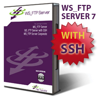 WS_FTP Server 7 with SSH