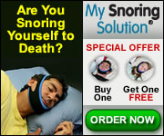 Stop Snoring Now! AD
