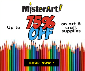 Up to 75% off of Art & Craft supllies