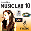 New! RecordNow 10 Music Lab Premier