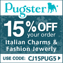 20% off all Jewelry at Pugster.com