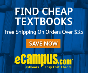 $20 Textbook Rentals at eCampus.com For A Limited Time Only!