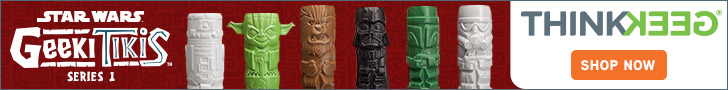 ThinkGeek -  Star Wars Geeki Tikis - Series 1